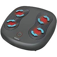 HoMedics FMS-230H-EU - Masajeador de pies Shiatsu, calor infrarrojo, 12 Nodos