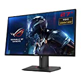 "ASUS  PG278QR ROG Swift - Monitor gaming de 27"" WQHD (2560x1440, 1 ms, 165 Hz, NVIDIA G-Sync, Ultra-Low Blue Light, GameVisual Mode, DisplayPort 1.2, HDMI, USB 3.0 x2, Peana ajustable en altura, rotación y giro, GamePlus), color negro"