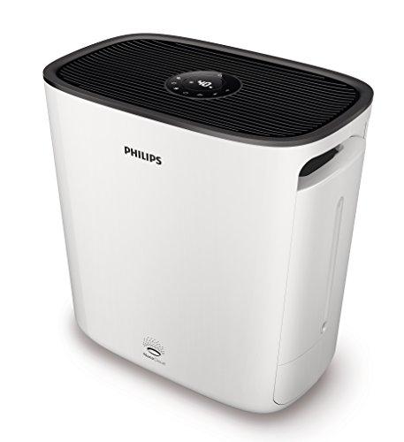 Philips HU5930/10 Luftwäscher (Optimale Luftbefeuchtung mit Reinigungswirkung, bis zu 70m²) weiß Test