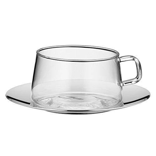 WMF 0636316040 Tee Tasse mit Untertasse TeaTime