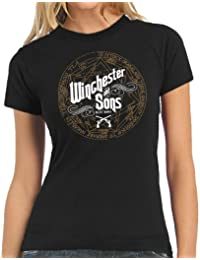 Touchlines Damen T-Shirt Winchester and Sons Women's