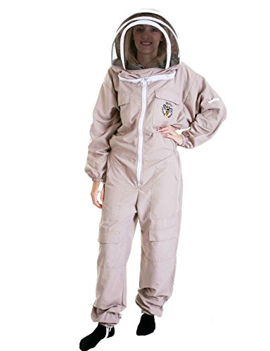 Buzz Work Wear leichte Latte Bienenzucht Anzug (Anzug Leichte)