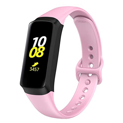 Replacement Strap for Samsung Galaxy Fit, Colorful Soft Silicone, Sports Strap for Samsung Galaxy Fit, Unisex.