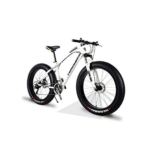 DPFXNN 26 Pulgadas, 27 velocidades, Todoterreno, Bicicleta de montaña, Marco de Aluminio, Snow Beach...