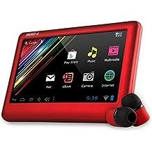 "Energy Sistem A4 - Tablet de 4.3"" (4 GB, Android), rojo"
