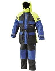 Abu Garcia Flotation Suit 2 Piece - Blue/Black/Yellow, XXX-Large
