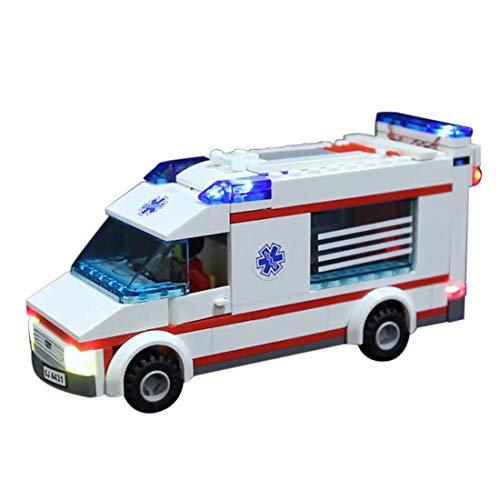NURICH Licht Set für Lego 4431 Krankenwagen, passen zum Lego 4431 (Lego Krankenwagen Set)