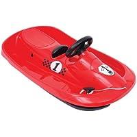Hamax Sno Formel - Trineo infantil (95 x 53 x 15 cm) rojo rojo Talla:95x53x15