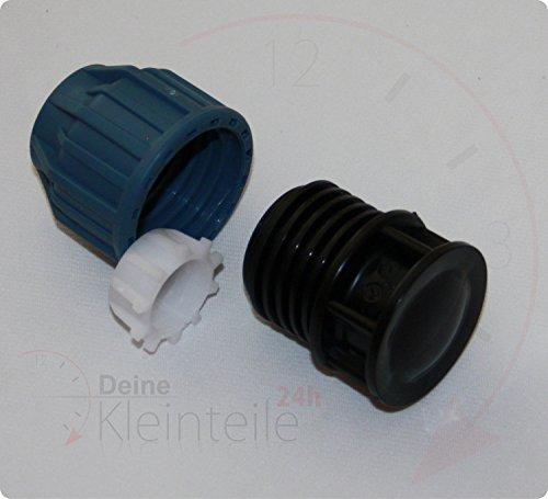 Bouchon PE entkappe Tube plastique PP connecteur de serrage klemmfitting Raccord union AG PEX, 16mm