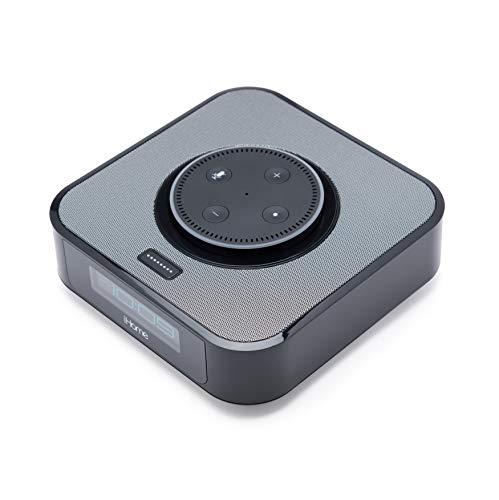 iHome Alexa Compatible Bedside Clock, Amazon Dot Docking Station &  Bluetooth Speaker