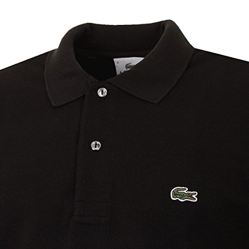 Lacoste Herren Poloshirt L1312-00 Schwarz (Noir)