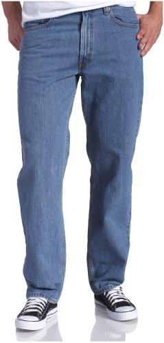 Levi's Men's 550 Relaxed Fit Jean - Big & Tall, Medium Stonewash, 44X36 - Levis 550 Jeans