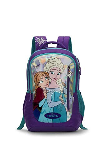 Skybags Frozen 05 32 Ltrs Plum Casual Backpack (Frozen 05)