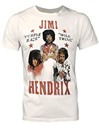 Junk Food Jimi Hendrix Wild Thing Men's T-Shirt