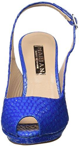 Calzados Marian 64202, plateforme femme Bleu (bluette)