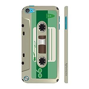 Enthopia Designer Hardshell Case Retro Cassette 1 Back Cover for Apple Ipod Touch 5