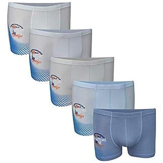 PiriModa Calzoncillos bóxer para niño – Algodón – Disponibles en Tallas de 2 a 16 años y en Packs de 5 o 10 Unidades