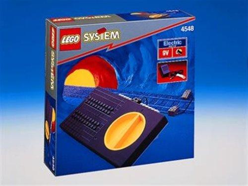 Lego 4548 Eisenbahn 9 Volt Transformator