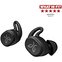 Jaybird Vista True Wireless Bluetooth Headphones with Charging Case - IPX7 Waterproof and Sweatproof Earphones, 16 Hour Playtime Siri Enabled In-Ear Earbuds for Sport, Running, Fitness, Gym - Black