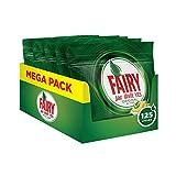 Fairy Original Detersivo in Caps per Lavastoviglie, Confezione da 125 pastiglie (25 x 5), Limone