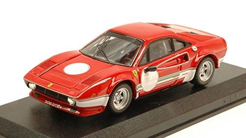 FERRARI 308 GTB4 LM TEST FIORANO 1976 NIKI LAUDA 1:43 Best Model Auto Competizione modello modellino die cast