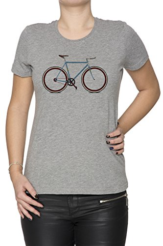 Erido Fahrrad Damen T-Shirt Rundhals Grau Kurzarm Größe XXL Women's Grey XX-Large Size XXL -