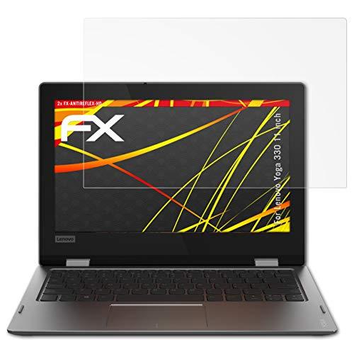 atFolix Schutzfolie kompatibel mit Lenovo Yoga 330 11 inch Bildschirmschutzfolie, HD-Entspiegelung FX Folie (2X)