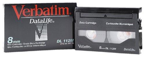 Verbatim 8mm/112m DataLife (2.5/5GB) Data Cartridge Cartucho de cinta - Cinta virgen (Cartucho de cinta, 5 GB, 8 mm, 112 m, 2,5 GB)