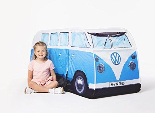 Volkswagen bambini VW camper tenda furgone in blu