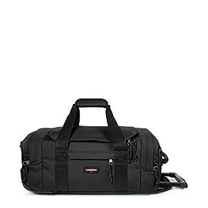 EASTPAK Suitcase Letherface M, 45 cm, 61 Liters, Black