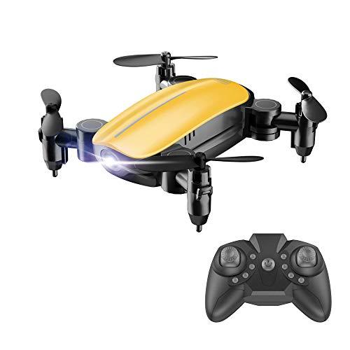 feiXIANG Drone con Telecamera Quadricottero Mini Quadcopter per Bambini Professionale Selfie Parrot Droni - modalità Senza Testa Una Chiave Ritorno Hover 3D GPS 6-Axis RC Pieghevole
