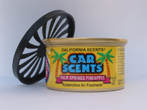 Preisvergleich Produktbild California Car Scents Duftdose für das Auto. Duftrichtung: Palm Springs Pineapple (Ananas)