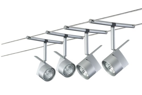 Paulmann 97487 EasyPower Sistema in metallo cromato opaco 4 x 50 W GU5.3 230/12 V 210 VA