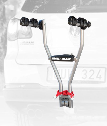 Mont Blanc 481000  Quickball Black//Silver Tow Ball Cycle Carrier