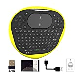 LoveOlvidoD T8 Wireless Mini Tastatur 2.4G Air Fly Maus Gummi Tastatur Muti-Touch Touchpad Für Android TV Box Notebook Tablet PC