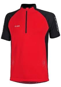 Jako Maillot de cyclisme pour homme multicolore Rouge/Noir xx-large