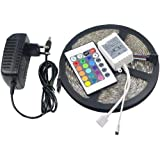 LED Strip light RGB 5050 5m 300 led Waterproof with Remote Control and power adapter