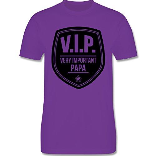 Vatertag - V.I.P. - Very important Papa - Herren Premium T-Shirt Lila