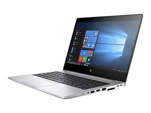 HP Elitebook 830 G5 13.3 Inch 256GB SSD 1.8GHz i7 8GB RAM (Windows 10 Pro, Intel UHD Graphics 620, Silver) 3PY97UT#ABA Aba Bluetooth