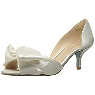 Pelle Moda Women's Alera-Si D'Orsay Pump, White, 9 M US