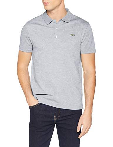 Lacoste Herren Yh4801 Poloshirt, Grau (Argent Chiné Cca), X-Large (Herstellergröße: 6) -