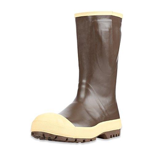 Honeywell Servus lll Advanced 15 Neoprene Steel Toe Mens Work Boots, Copper & Tan Copper Tan