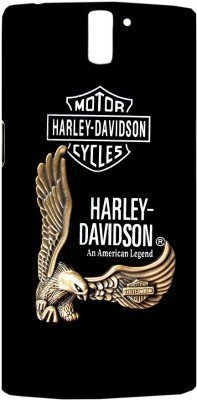 Techno TrendZ TM Premium Imported Luxury Hard Back Case American Eagle Harley Davidson Metal 3D Touch feel Logo Fancy Stylish Designer Cover for OnePlus 2 , One Plus2