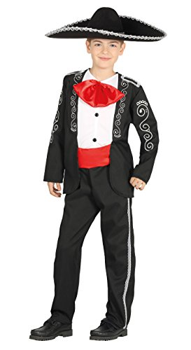 Mariachi Kostüm Kind - Guirca-Kostüm Mariachi, Größe 10-12Jahre (87563.0)