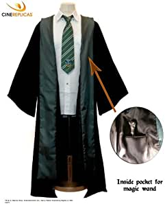 Robe de Sorcier Serpentard - Taille : Small - Harry Potter