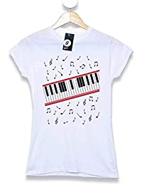 Refugeek Tees - Hombre Michael Jackson Camiseta- Beat It Piano