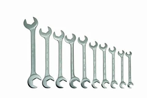 Williams 3782 10-Piece Double Open End Wrench Set by Snap-on Industrial Brand JH Williams