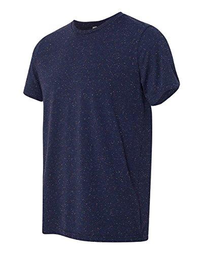 Leinwand, Polyester/Baumwolle T-Shirt–3650 Blau - Navy Speckled