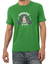 TEXLAB - Snore Gym - Herren T-Shirt
