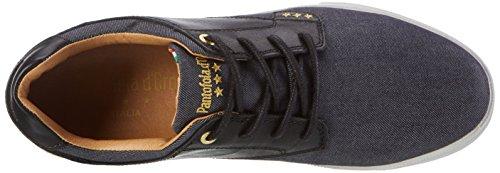 Pantofola d'Oro Herren Comacchio Canvas Uomo Low Top Schwarz (Black)